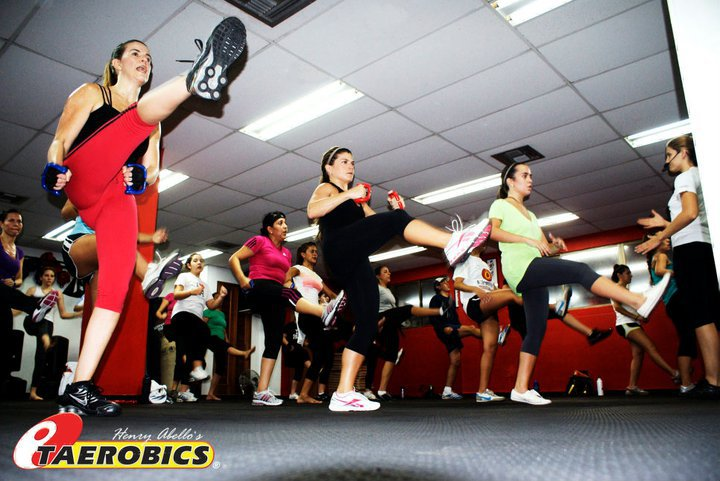 Clase de TAEROBICS en American Taekwondo Center Barranquilla