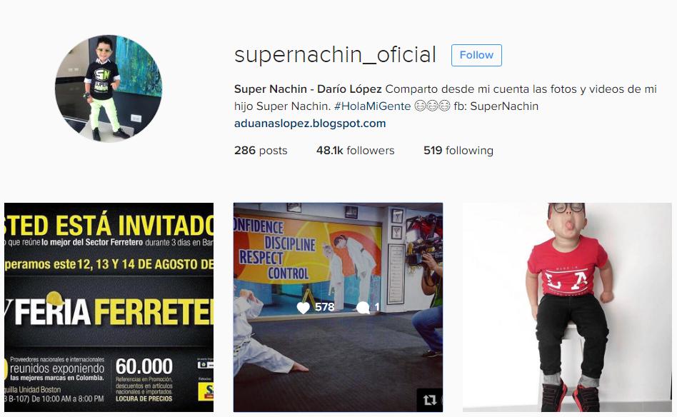 Supernachín ya cuenta con más de 48 mil seguidores en la red social Instagram! Si aún no lo sigues, hazlo AQUÍ: @supernachin_oficial