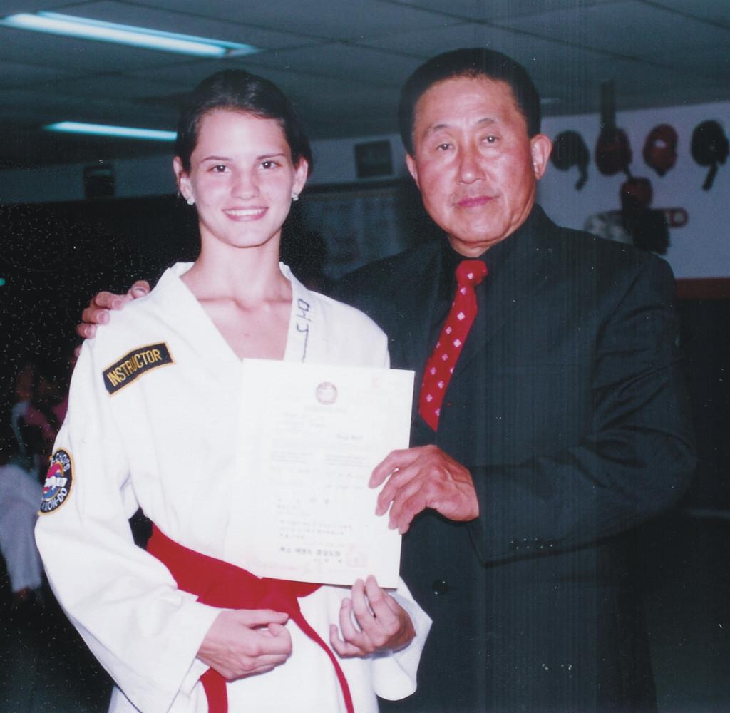 La última vez que Grand Master Choi visitó Barranquilla fue para una Ceremonia de Cinturones en el año 2005