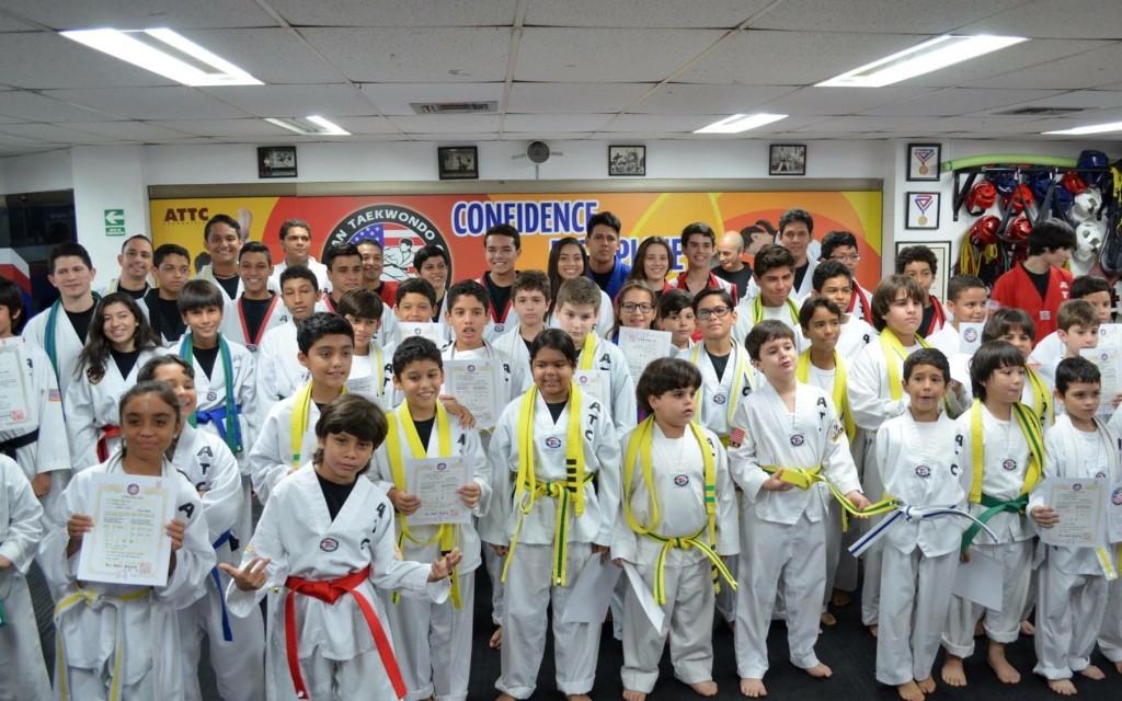 American Taekwondo Center realiza varios exámenes de asenso al año