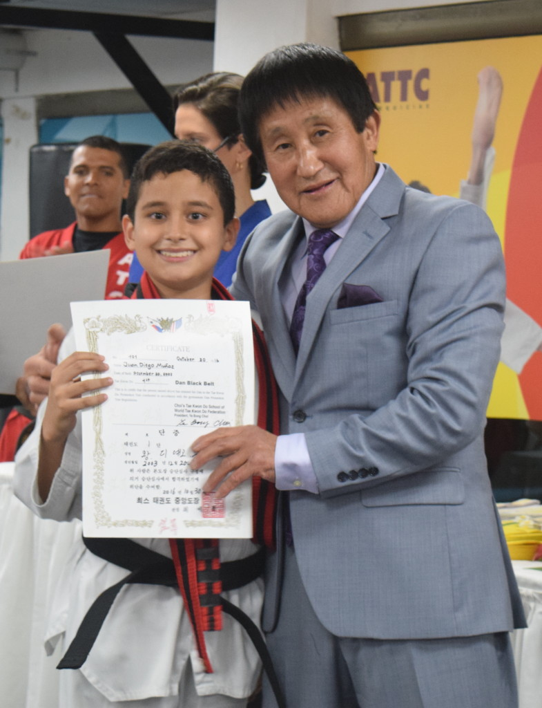 Certificado de Cinturón Negro