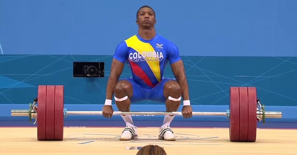 Oscar Figueroa es el primer campeón olímpico colombiano de la rama masculina.