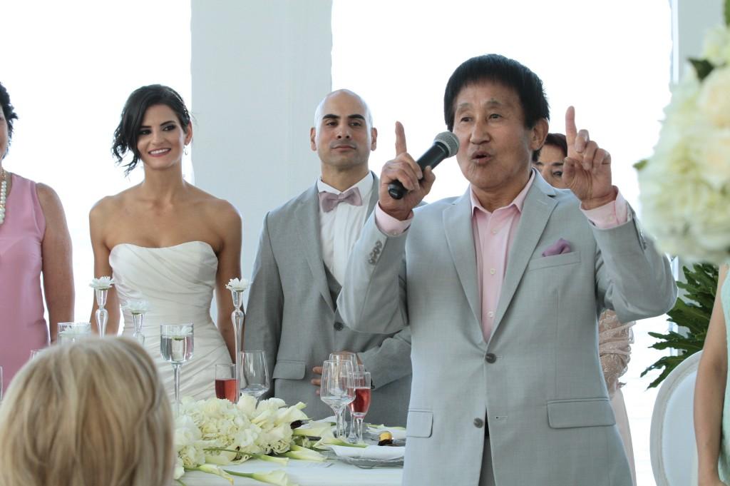 Grand Master Choi visitó a Barranquilla a finales de 2016 para asistir a la boda de su pupilo, nuestro fundador, Master Henry con Mrs. Mónica
